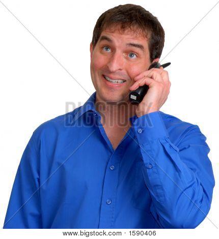 Man In Blue Dress Shirt 14