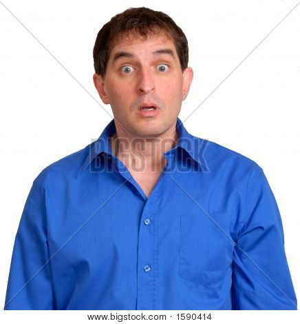 Man In Blue Dress Shirt 16