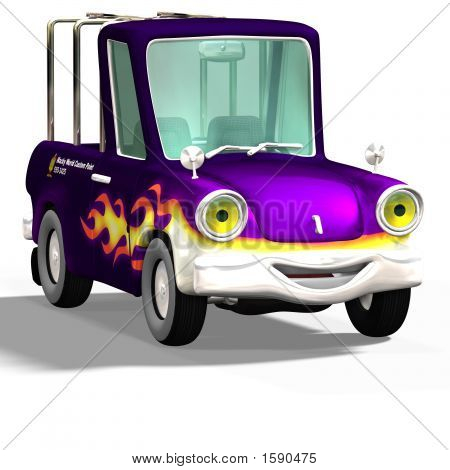 Cartoon Car No. 10