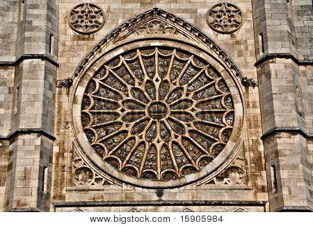 Roseton Catedral De Leon