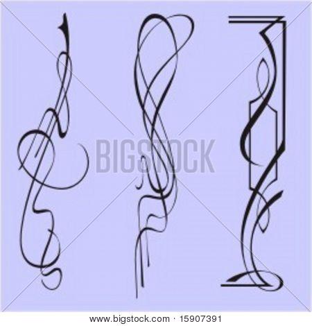 Exquisite Design Elements 22 (Vector) Very clean and exquisite design elements of ornamental type.  Very clean vectors!