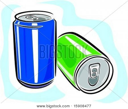 Carbonate drinks.Vector illustration