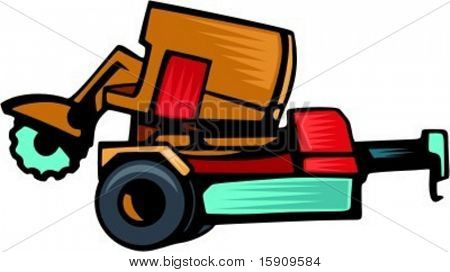 Forestry equipment.Vector illustration