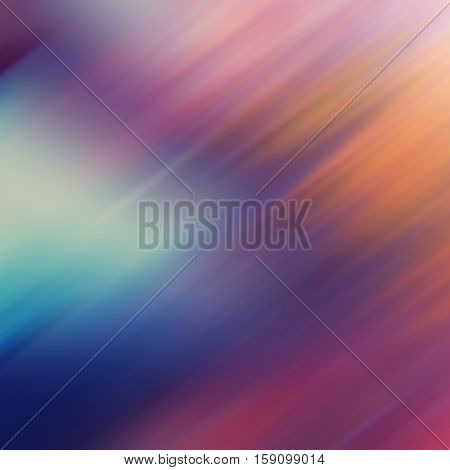 diagonal blurred color lines abstract background blue orange