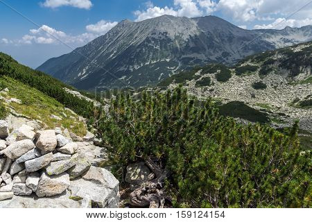 Amazing Landscape From Banderitsa pass to Todorka peak,  Pirin Mountain, Bulgaria