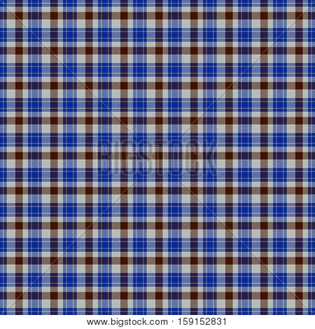 Blue checkered tartan plaid pattern wallpaper design