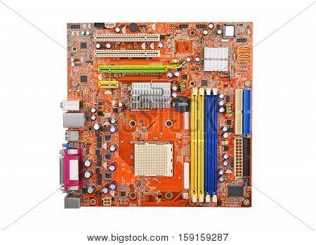 Printed Computer Motherboard