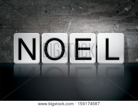 Noel Tiled Letters Concept And Theme