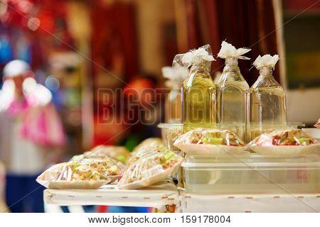 Argan Oil On Moroccan Market