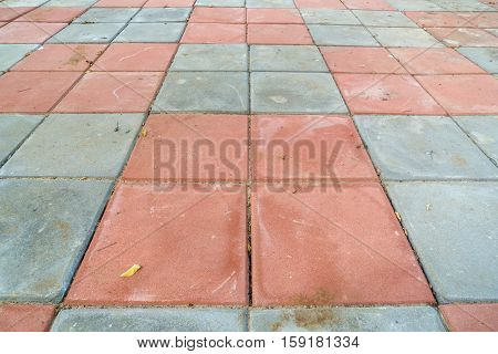 Flagstone walkway A dirty and old for background