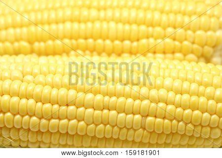 Sweet Corns As Fruit Background