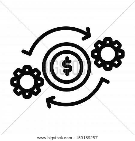 project revenue vector illustration design eps 10