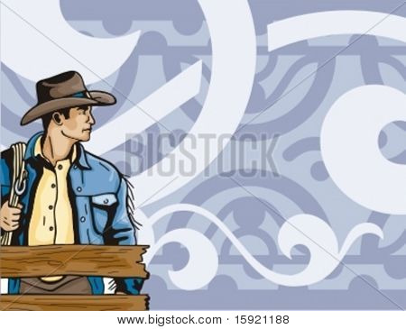 Western Rodeo Background Series.