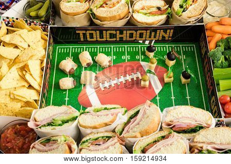 Football Snack Stadium