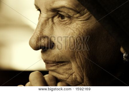 Eldery Woman