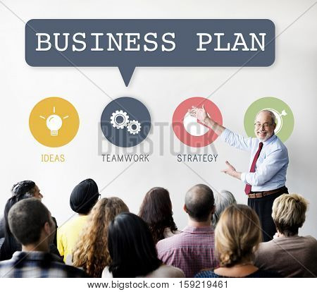 Vision Mission Business Planning Corporate Concept