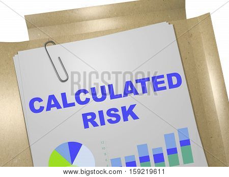 Calculated Risk Concept