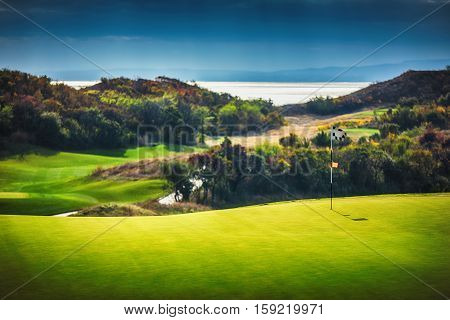 Amazing Golf course in the countryside and near the sea