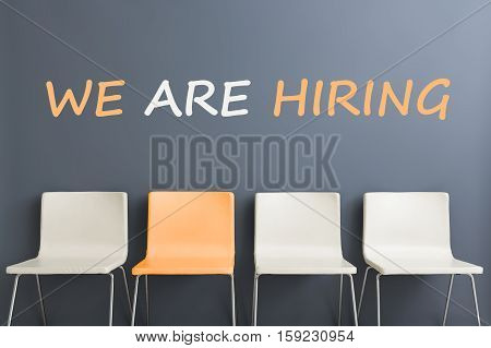 chair interior wall room white modern minimalistic comfortable gray new design small decorative style table nobody minimalism concept - stock image