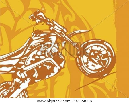 Motorcycle Grunge Background Series. Check my portfolio for many more images of this series.