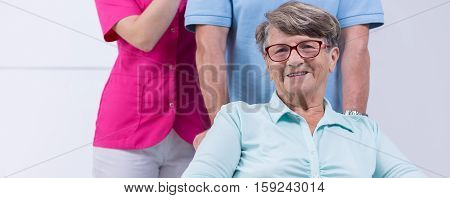 Elder Woman With Glasses