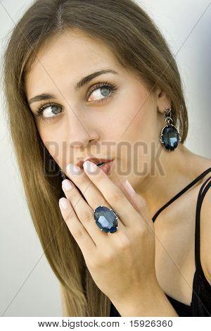 Elegant Beauty young woman