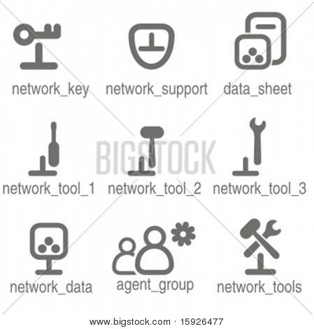 Networking icons set 5. Check my portfolio for many more images from this series.