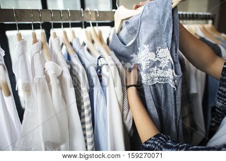 Clothes Shop Costume Dress Fashion Store Style Concept