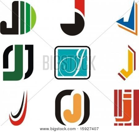 Alphabetical Logo Design Concepts. Letter J. Check my portfolio for more of this series.