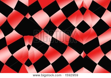 Op Art Red