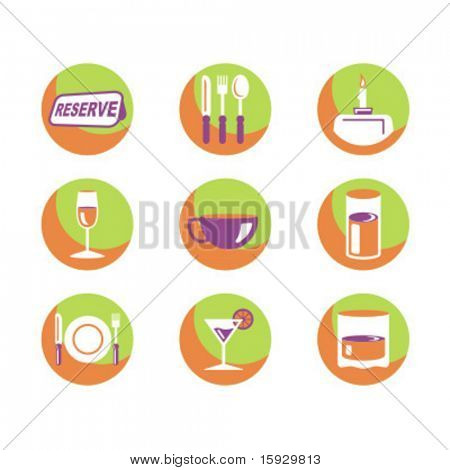Exclusive Series of Food Icons. Check my portfolio for much more of this series as well as thousands of similar and other great vector items.