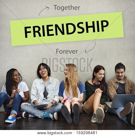 Friendship Together People Community Concept
