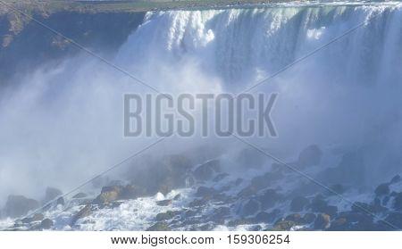 Canadian Side Of Niagara Falls