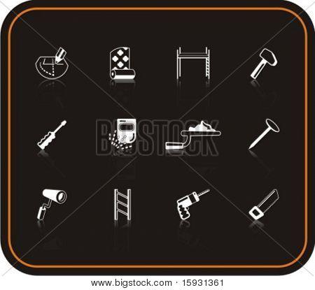 Exklusive Reihe von Reparatur-Symbolen. Prüfen Sie mein Portfolio für viel mehr von dieser Serie, sowie thousan