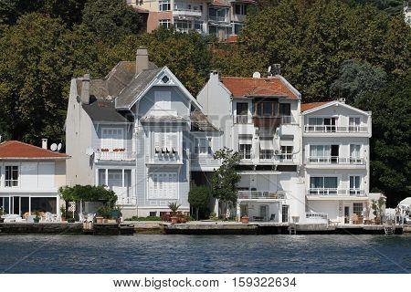 Buildings In Istanbul City, Turkey