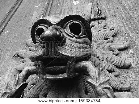Sanctuary Knocker - North Door, Durham Cathedral, UK