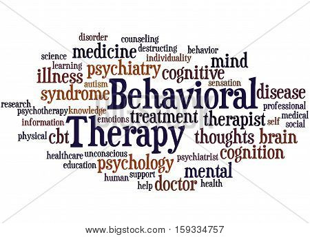 Behavioral Therapy, Word Cloud Concept 8