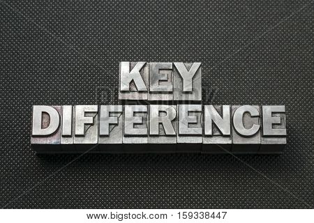 Key Difference Bm