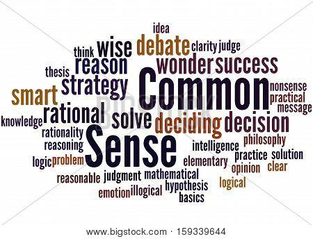 Common Sense, Word Cloud Concept 5