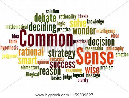 Common Sense, Word Cloud Concept 8