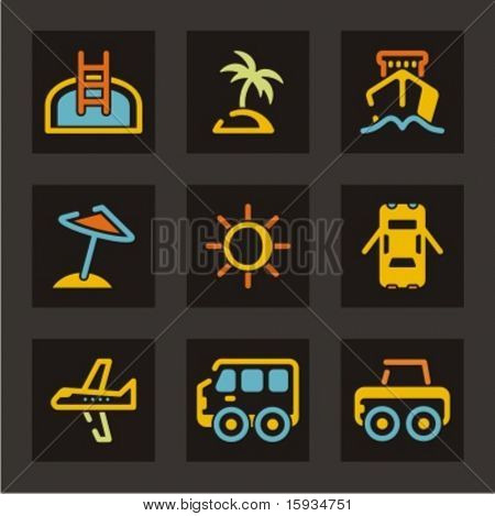 Travel and tourism. Check my portfolio for much more of this series as well as thousands of similar and other great vector items.