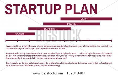 Stratup Business Marketing Plan Concept