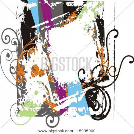 Fondo grunge colorido abstractos. Comprobar mi cartera para más antecedentes como thousan