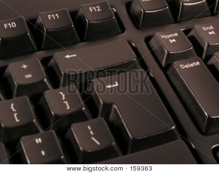 Enter And Backspace Keys View