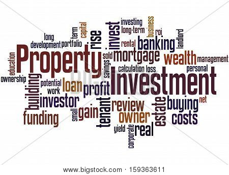 Property Investment, Word Cloud Concept 4