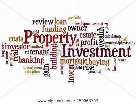 Property Investment, Word Cloud Concept 6