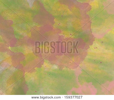 Watercolor background. Abstract green colorful watercolor background texture.