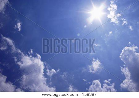 Sonnige Himmel