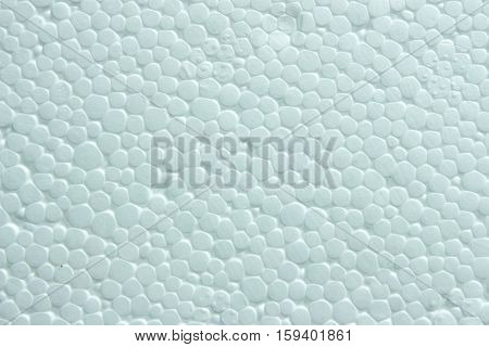 Polystyrene foam texture. background from the white surface of foam plastic