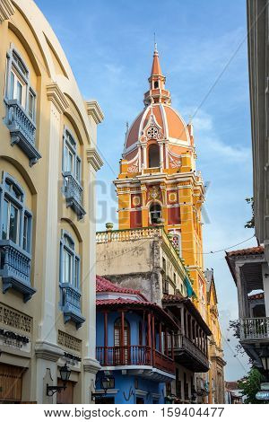 Cartagena Cathedral View